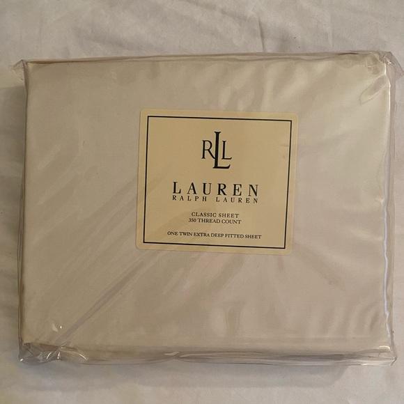 Lauren by Ralph Lauren Fitted Sheet